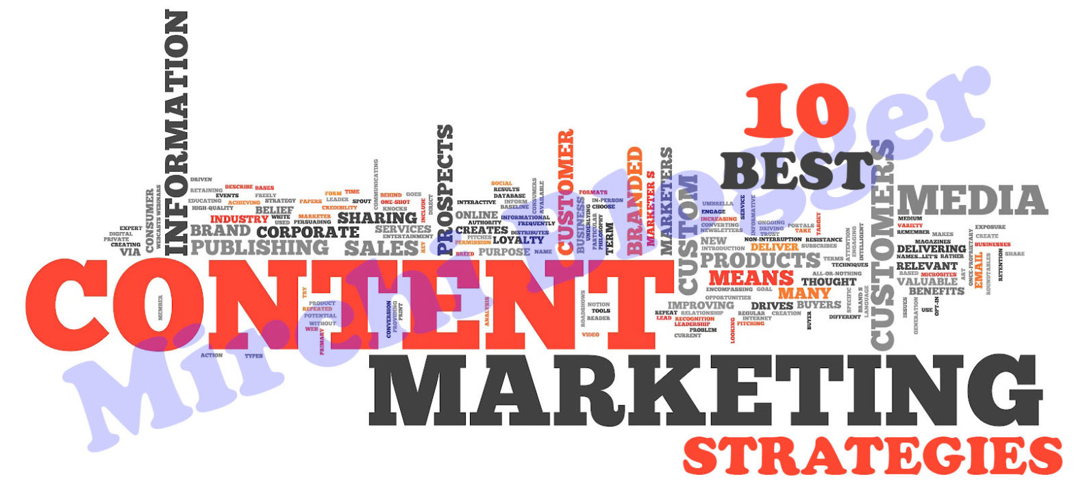 10 Best Content Marketing Strategies
