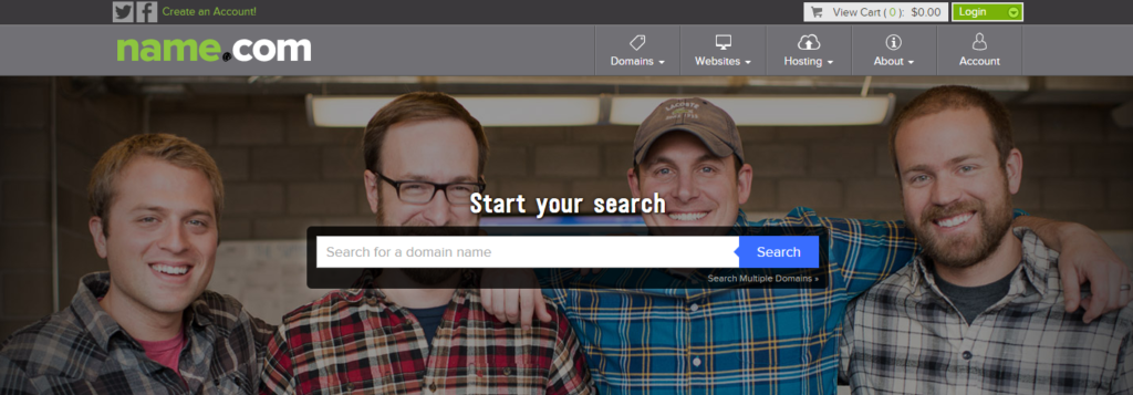 name.com domain reseller company on mirchi blogger
