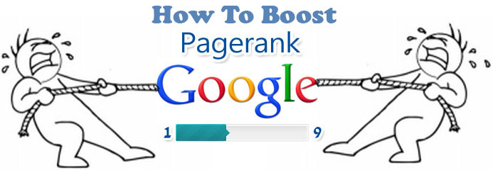 how to boost the google page rank