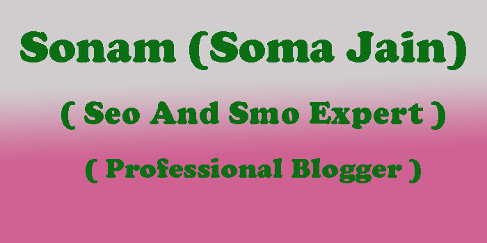 Soma Jain Partner At Mirchi Blogger