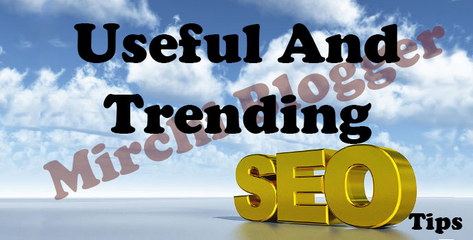 Useful And Trending SEO Tips Of year 2015